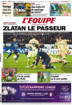 L'Équipe - Mercredi 7 Novembre 2012 - N° 21299