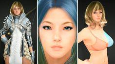 Black Desert - Ranger Creation - New Armor/Skin/Hair Shader/Inner