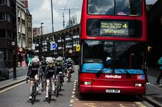 Buses, bikes and busy streets. Ride with Us starring London: http://blog.strava.com/ride-with-us/.