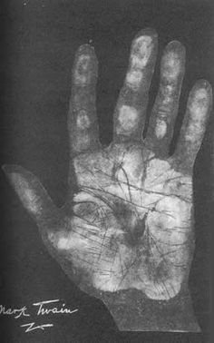 97 best palmistry hands of famous people palm reading chiromancy hand print of mark twain palmistry m4hsunfo