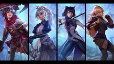 Rwby Anime, Rwby Fanart, Ruby Rose Anime, Rwby Weiss, Red Like Roses, Rwby Characters, Team Rwby, Yuri Anime, Anime Kiss