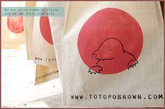 Bolsas edición limitada para Totopo Brown