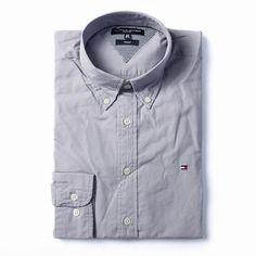 Tommy Hilfiger Long Sleeve Dress Shirts Gray Free Shipping Long Sleeve Shirt Dress, Dress Shirts, Tommy Hilfiger Shirts, Dresses With Sleeves, Free Shipping, Gray, Mens Tops, Fashion, Moda