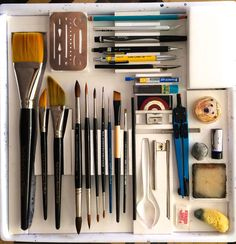 Art Tools of Paul Jackson | Parka Blogs
