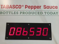 McIlhenny Company Tabasco Pepper Sauce on Avery Island in Louisiana.