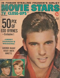 Ricky Nelson on the November 1959 Movie Stars and TV Close-Ups
