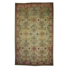 Antique Indian Agra | From a unique collection of antique and modern indian rugs at http://www.1stdibs.com/furniture/rugs-carpets/indian-rugs/