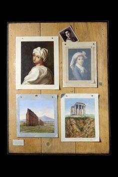 Trompe l'oeil painting by Francesco Alegiani