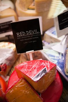 Red Devil cheese Farm Shop, Bury, Devil, Stuffed Peppers, Treats, Cheese, Red, Sweet Like Candy, Goodies