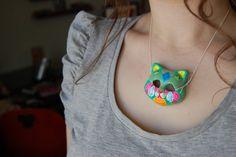 papier mache necklace?