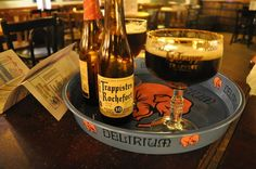 Rochefort 10 at Delirium cafe