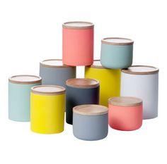 Boîte de conservation en céramique toucher soft Living Kitchen