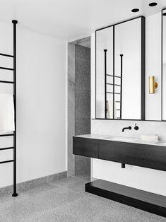 Bendigo Residence by Flack Studio. Black bathroom ... & 364 best Modern Bathrooms images on Pinterest in 2018 | Modern ...