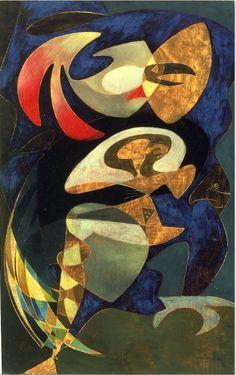Max Ernst (1891-1976), The Weatherman (1950), oil on canvas, Fondazione Musei Civici di Venezia, Italy