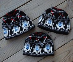 Free knitting charts for Star Wars Fair Isle patterns and more knitting patterns inspired by Star Wars