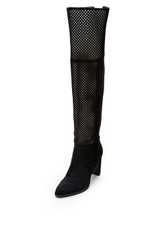 The Jolet boot is a statement boot for all seasons. With a stacked heel, suede upper and cutout detailing.