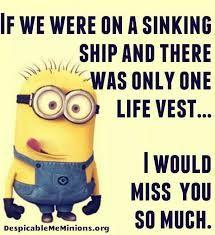 Minion Humour, Funny Minion Memes, Minions Quotes, Funny Jokes, Funny Insults, Image Minions, Minions Love, Minions Friends, Minions Minions