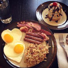 Ultimate birthday breakfast.