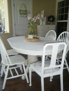 Anne Sloan paint project - maybe I don't need to buy a new kitchen table after all.