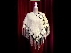 Sublime Crochet for Absolute Beginners Ideas. Capital Crochet for Absolute Beginners Ideas. Prayer Shawl Patterns, Crochet Poncho Patterns, Crochet Tunic, Crochet Jacket, Crochet Scarves, Crochet Clothes, Easy Crochet, Free Crochet, Poncho Design