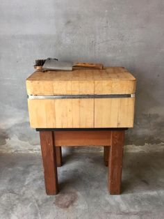 prachtig hakblok slagersblok slagershakblok rechthoekig hout