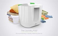 The Electricity-Free Laundry Pod Washer Cuts Down on Water, Time and Energy