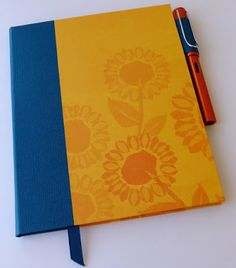 Lift Bridge Cards and Crafts: Cantina Blog Hop - notebook for a fountain pen and cards #clubscrap by Deb Charlesworth