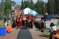 The Teslin Tlingit Council (TTC) is a First Nation government in the central Yukon in Canada, located in Teslin, Yukon along the Alaska Highway and Teslin Lake. The language originally spoken by the Teslin is Tlingit.  Together with the Taku River Tlingit First Nation in British Columbia, they compr...