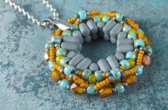 Hypatia Pendant [PDF Tutorial] with rulla beads O Beads, Seed Beads, Beaded Earrings, Beaded Bracelets, Donut Shape, Beading Tutorials, Bead Weaving, Personalized Jewelry, Jewelry Making