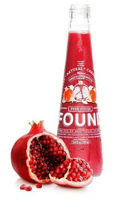 Kick start your health with pomegranate juice.