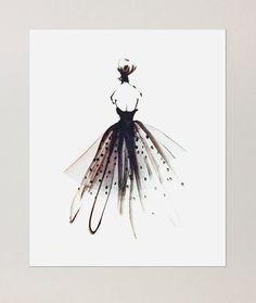 Ilustradores de moda sin magazine