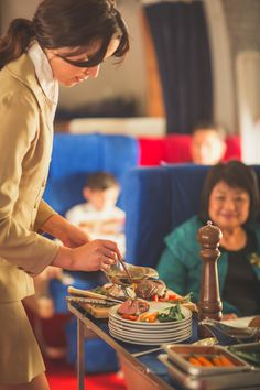 Presented by Vegetarian? Good luck flying on a Pan Am Trans-Atlantic flight in the sixties. In wanting to provide an A service to its passengers, Pan Am came up with a food service it thought all passengers would drool over: a meat carving for first class meal service. Roast beef was cooked in-flight and carved […]