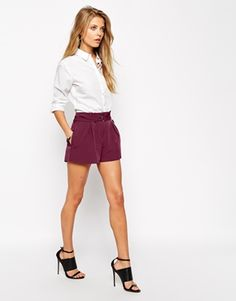 ASOS Shorts with D Ring Detail