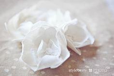 DIY Linen Flower Tutorial   My Modern Vintage-styleberry BLOG