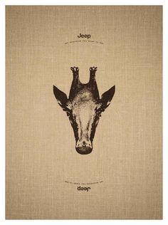 Jeep: Giraffe