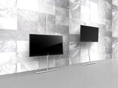 Nouvelles solutions d'installation Loewe - Barre Wall Stand Flex et meubles TV pour téléviseur et ensemble Home Cinéma Loewe