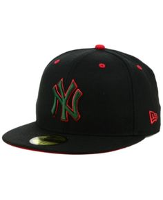 dd579cce357 New Era New York Yankees Italian 59FIFTY Fitted Cap - Black 7 1 2