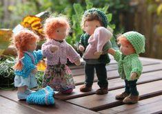 Custom order Bendy dollhouse doll Waldorf style by ElineDolls
