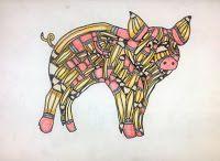 PHS ART: No.2 Pencils