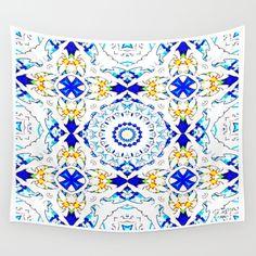 Free Spirit Boho Wall Tapestry by azima Boho Tapestry, Wall Tapestries, New Age, Summer Of Love, Yoga Meditation, Free Spirit, Hand Sewn, Vivid Colors