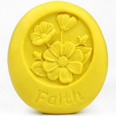 qinxi Faith Flower Shaped Fondant Cake Chocolate Silicone Mold Cake Decoration Tools,L8cm*W6.5cm*H3cm ^^ Additional details found at the image link  : Candy Making Supplies