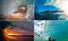 Revealed: How photographer captures precise moment biggest waves break