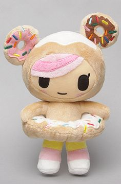 $20 The Donutella Plush Toy by tokidoki - Use repcode SMARTCANUCKS for 20% off on #karmaloop - http://www.lovekarmaloop.com