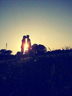 kiss me when the sun sets