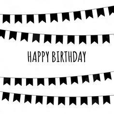 Happy Birthday verjaardagskaarten van Zwart Wit kaarten versturen bij Kaartwereld: 20% korting bij het maken van een gratis account.