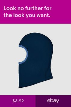 1b986d0d224 ... Boy Blue Winter Mask Hat Balaclava Full Face Cover. i play Hats  Clothing