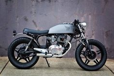 Just noticed this locally built 66 Motorcycles Honda CB400