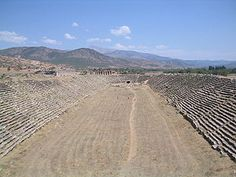 Roman hippodrome in ancient city of Aphrodisias, Turkey