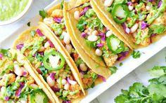 Roasted Cauliflower Tacos [Vegan] | One Green Planet