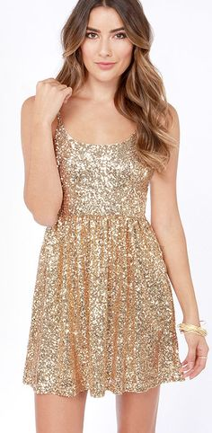 tfnc Sequin Sarah high low dress Gold  Pinterest  Maroon ...